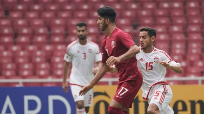 Hasil Akhir Qatar vs Thailand Perempat Final Piala AFC U-19 2018, Qatar Menang 7-3