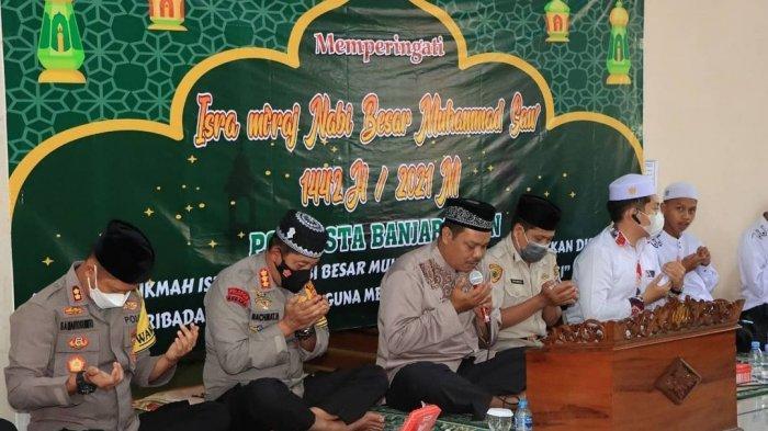 Momen Isra Mi'raj 2021, Kapolresta Banjarmasin Ingatkan Pererat Tali Persaudaraan