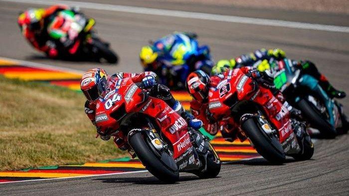 Hasil FP 1 MotoGP Ceko 2019, Andrea Dovizioso Tercepat, Marc Marquez, Quartarato & Valentino Rossi?