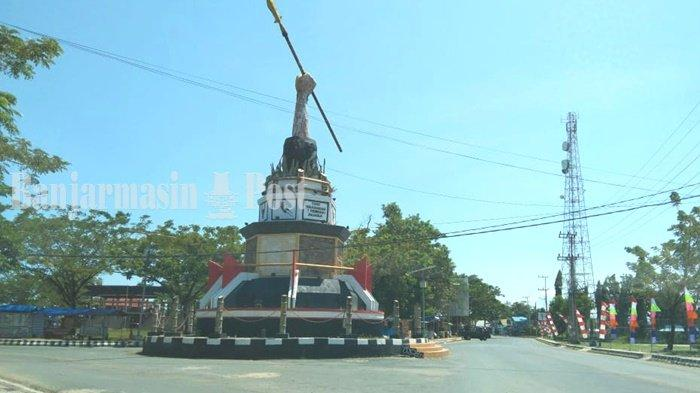 Wisata Kalsel, Monumen 7 Februari di Pagatan Kabupaten Tanbu