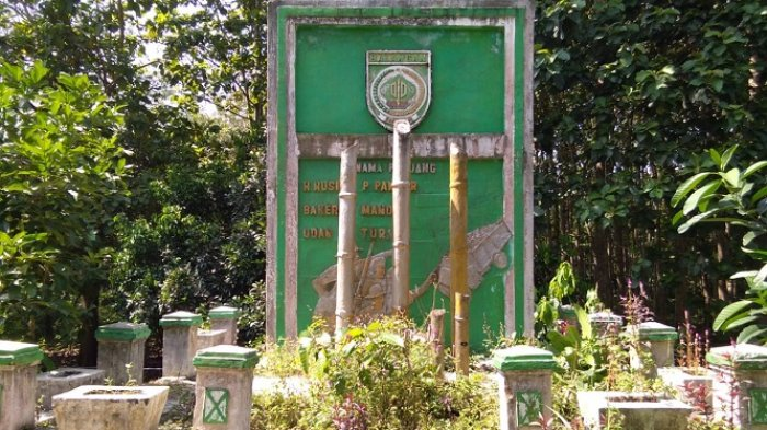Tak Terawat, Begini Kondisi Bangunan Monumen Pejuang 45 di Kecamatan Awayan