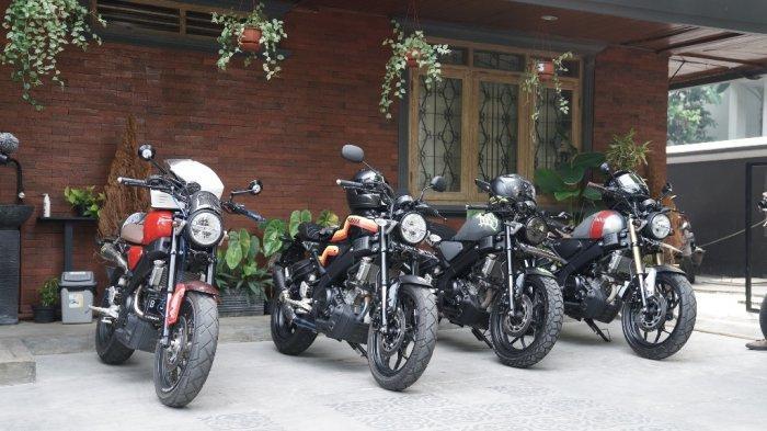 Motor XSR 155 custom milik konsumen XSR 155 peserta event XSR 155 Motoride