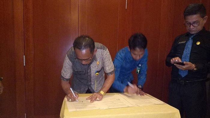 Pemkab Kotabaru Teken MoU Bersama Bank BRI, Bantu Kemudahan Pencairan Dana Desa