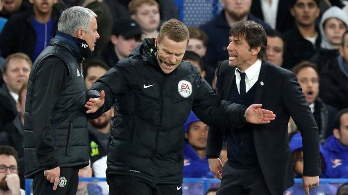 Kisah Perseteruan Jose Mourinho vs Antonio Conte, Sindiran Badut Hingga Pikun dan Saling Klaim Damai