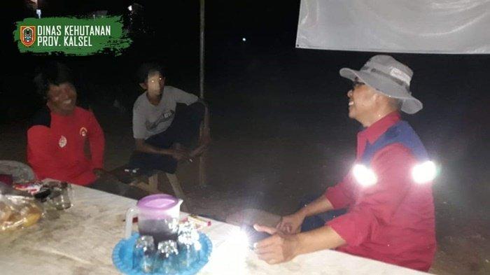 IPPKH Ikut Bersinergi Patroli Antisipasi Karhutla di Kawasan Tahura Sultan Adam Kalsel