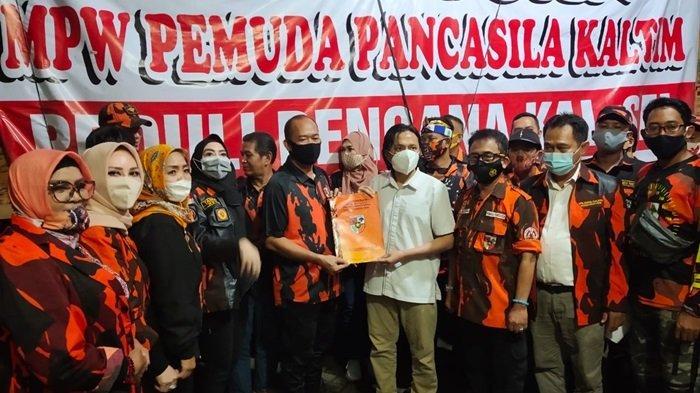 MPW PP Kaltim Bersama MPW PP Kalsel Salurkan Logistik Bantuan untuk Korban Banjir di Kalsel