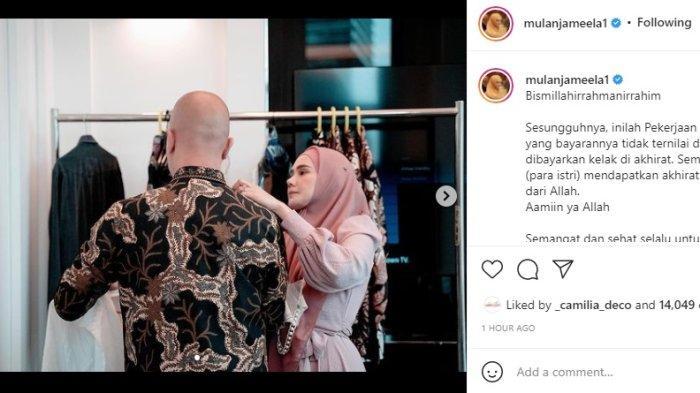 Usai Bantu Biayai Janda Korban Dul Jaelani, Mulan Jameela Ungkap Pengabdiannya Pada Ahmad Dhani