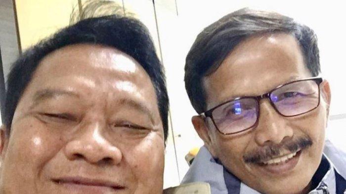 Mundari Karya dan Pelatih Barito Putera Djadjang Nurdjaman