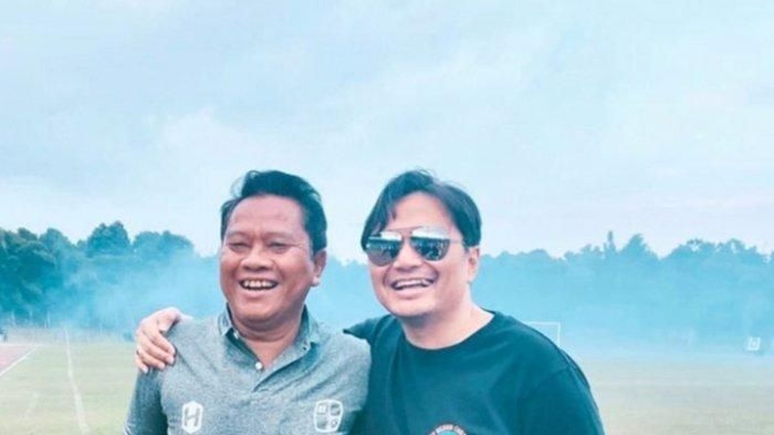 Mundari karya (kiri) bersama CEO Barito Putera Hasnuryadi Sulaiman