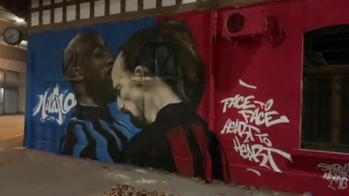 Ibrahimovic Tunggu Lukaku di Festival Musik Sanremo, Pertikaian di Laga Derby Milan vs Inter Mencair