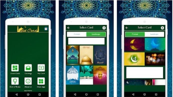 Mudah, Cara Membuat Kartu Ucapan Lebaran Digital dengan Aplikasi Android, Selamat Idul Fitri 2020