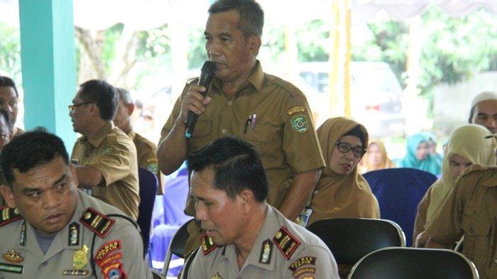 Wakil Bupati Tapin Syafrudin Noor Kecewa Ancam Laporkan Pungutan Parkir ke Saber Pungli