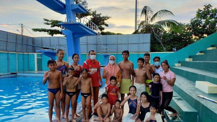Pantau Latihan Loncat Indah, Kadispora Kalsel Kagum Melihat Semangat Para Atlet