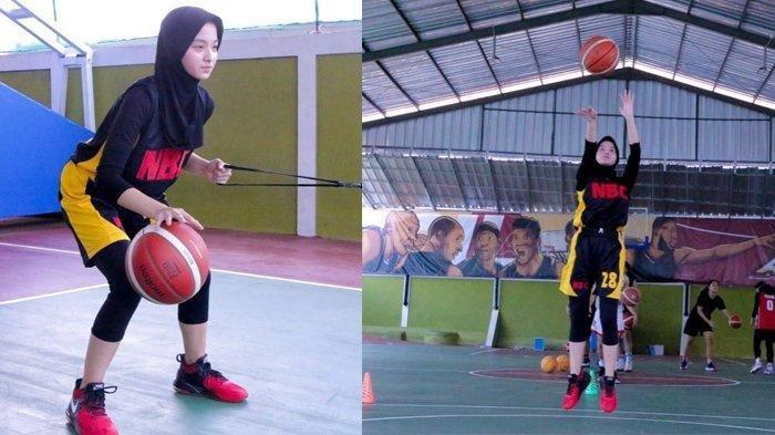 Nabila Putri pencinta basket