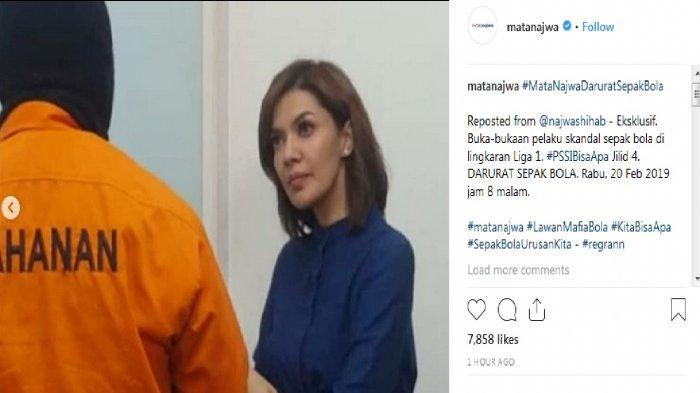 SESAAT LAGI! Live Streaming Trans 7 Mata Najwa PSSI Bisa Apa Jilid 4 Malam Ini, Sopir Joko Driyono