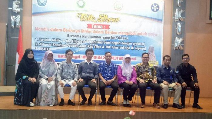 Talk Show BEM FKIK UM Banjarmasin Kupas Trik Sekolah dan Meniti Karir di Luar Negeri
