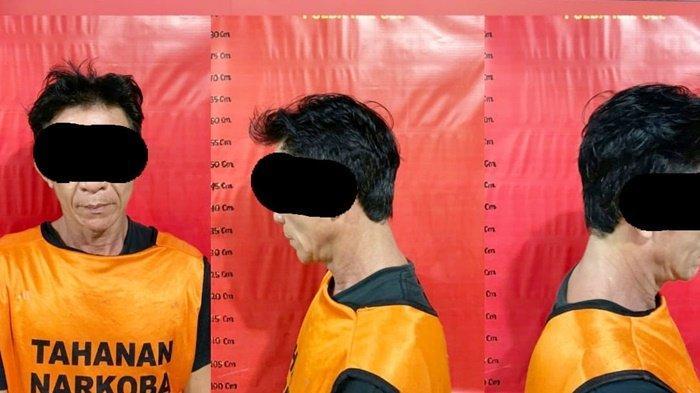 Narkoba Banjarmasin, Pria Paruh Baya di Banjarmasin Ini Simpan Sabu dan Ekstasi Dalam Pipa