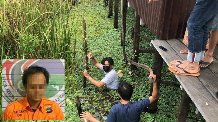 Narkoba Kalsel, Tersangka Buang Sabu ke Rawa di Kabupaten HSU