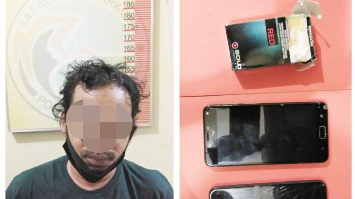 Narkoba Kalsel, Satresnarkoba Polres Banjarbaru Amankan Tembem di Sungai Besar