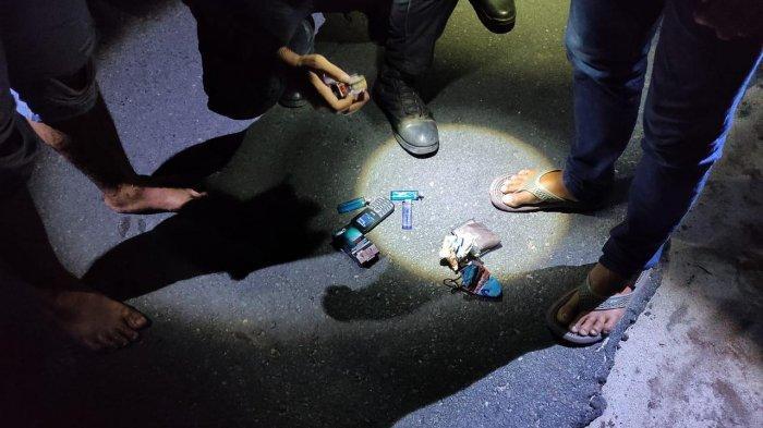 Narkoba Kalteng, Tim Patroli Raimas Polda Kalteng Amankan Tiga Pemancing Membawa Sabu