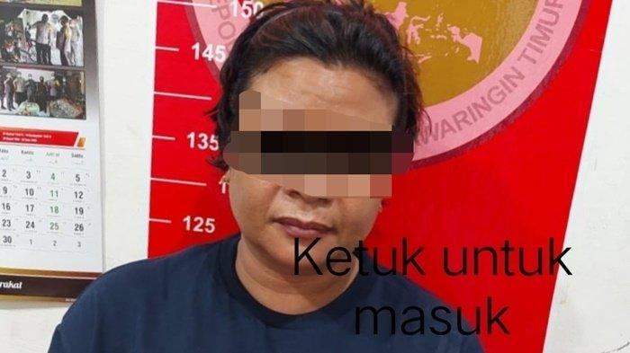Narkoba Kalteng, Wewe Simpang 11 Paket Sabu Ditangkap Satresnarkoba Polres Kotim