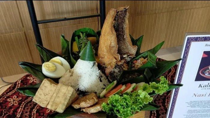 Kuliner Kalsel, Nasi Bekepor Makanan Para Raja Hadir di D'Lotus Restoran Mercure Banjarmasin