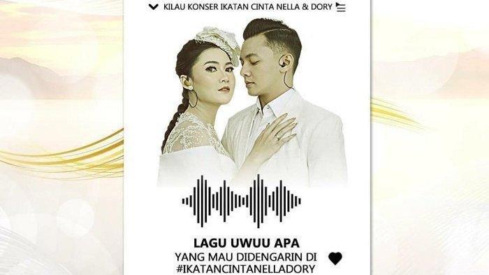 Nella Kharisma dan Dory Harsa di Hari Valentine, Konser Ikatan Cinta Nella Dory 14 Februari 2021