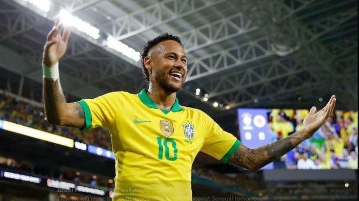 Hasil Akhir Paraguay vs Brasil Kualifikasi Piala Dunia 2022, Gol Neymar Buat Skor Akhir 0-2