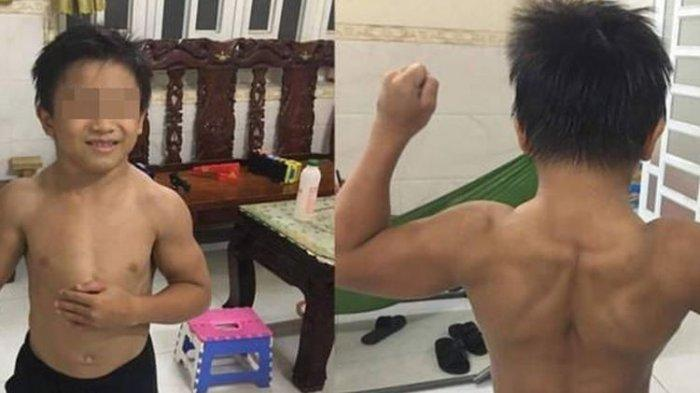 VIRAL Foto Bocah 10 Tahun Bertubuh Kekar Berotot, Jadi Sorotan Publik dan Mulai Didekati Pesohor