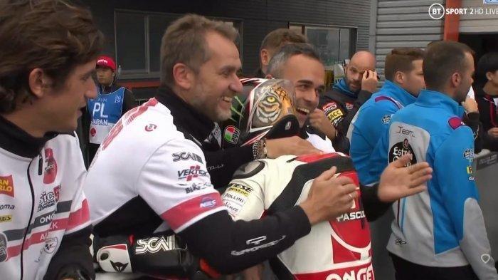 Hasil Kualifikasi Moto3 MotoGP Jepang 2019 - Tercepat, Pembalap Honda Niccolò Antonelli Raih Pole