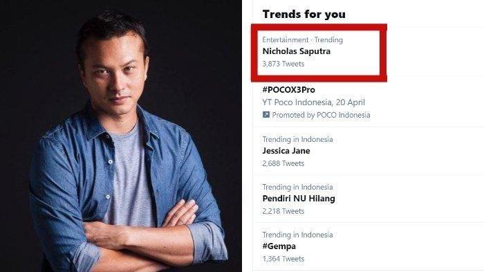 Sikap Nicholas Saputra Tetap Antre Saat Terima Vaksin Banjir Pujian, Namanya Trending Twitter