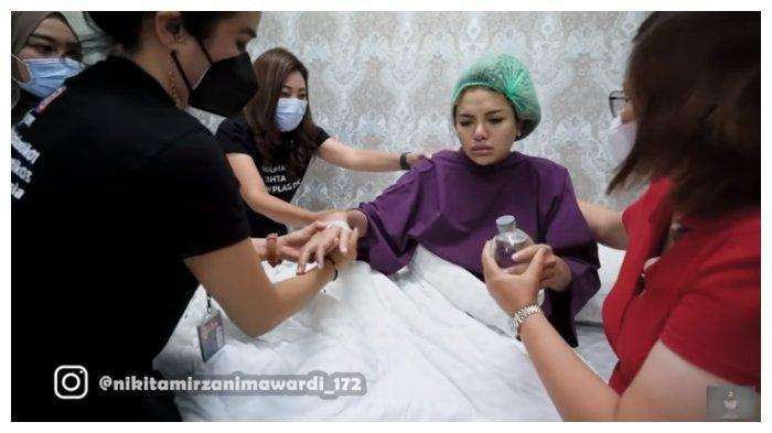 Nikita Mirzani meracau saat setelah operasi