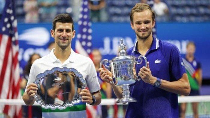 Novak Djokovic Gagal Raih Grand Slam US Open 2021, Daniil Medvedev Tahan Rekor Baru Djokovic