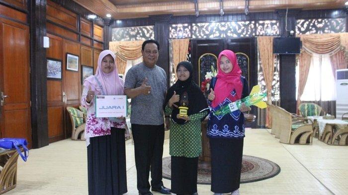 Wakili Indonesia ke Jepang, Keberangkatan Santri SMA Darul HIjrah Putri Ini Dibantu Paman Birin