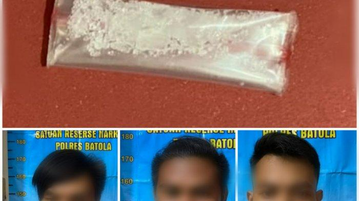 Narkoba Kalsel, Gara-gara Paket Kecil Sabu, Tiga Warga di Batola Digelandang ke Sel