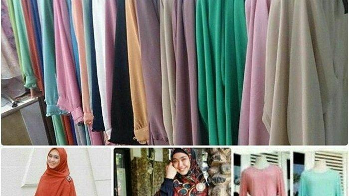 Jelang Ramadhan 1442 H,Pebisnis konveksi Asal Martapura Borong Baju Muslimah