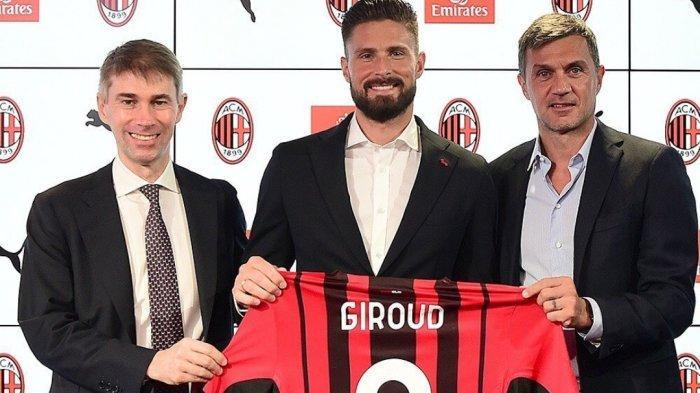 Perasaan Giroud Setelah Resmi Berseragam AC Milan & Pakai Nomor Terkutuk, Singgung Shevchenko