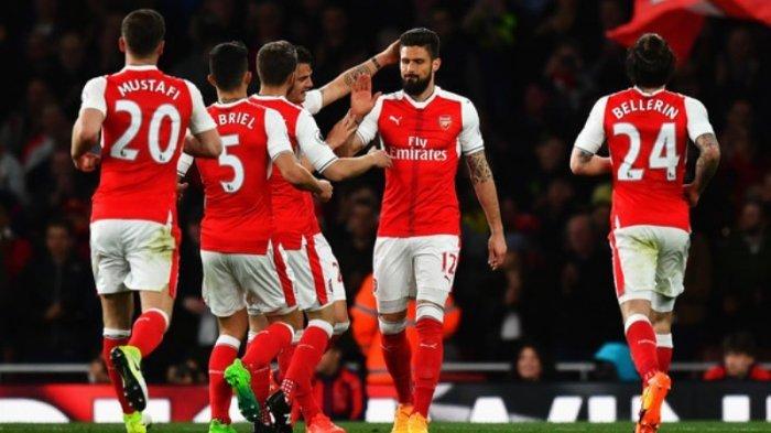 Link Live Streaming Arsenal Vs Crvena Zvezda - Misi Wenger Lolos ke Babak 32 Besar lewat Rotasi