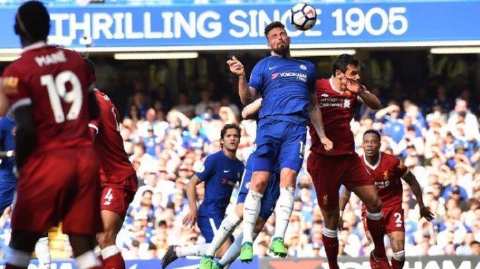 Liverpool vs AC Milan di UCL Live SCTV : Modal Apik Giroud Obrak-abrik Anfield saat Gantikan Zlatan