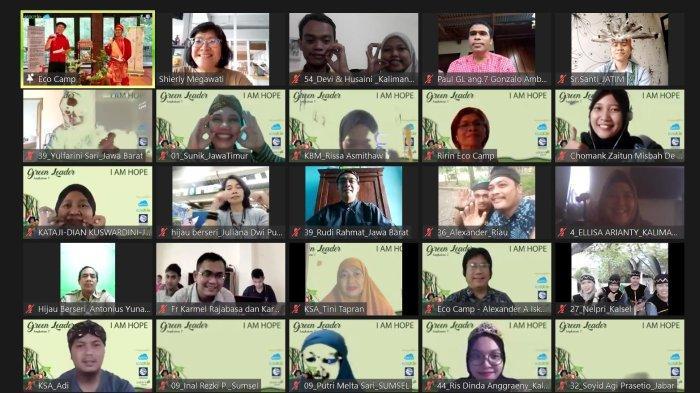 Opening Ceremony To Be a New Green Leaders angkatan 7 kali ini dilakukan secara virtual dengan diikuti sebanyak 221 calon Green Leaders yang tersebar dari Sabang sampai Merauke.