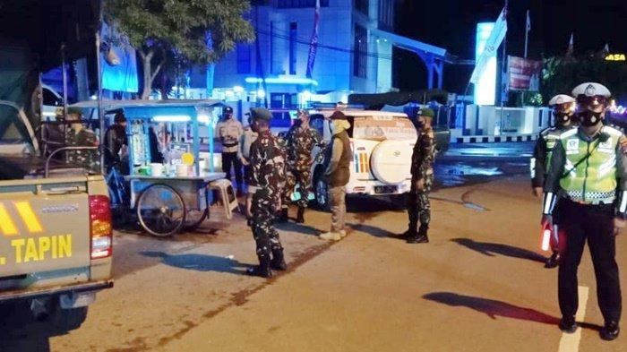Nihil Pelanggaran Dalam Operasi Yustisi di Bundaran Sirang Pitu Kota Rantau Kalsel