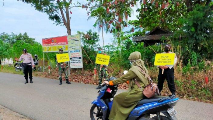 Gencarkan Operasi Yustisi di Tapin, Petugas Jaring Sembilan Pelanggar Prokes