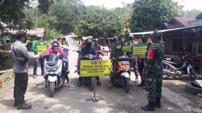 Tiga Kecamatan di Kabupaten Tapin Gelar Operasi Yustisi Serentak