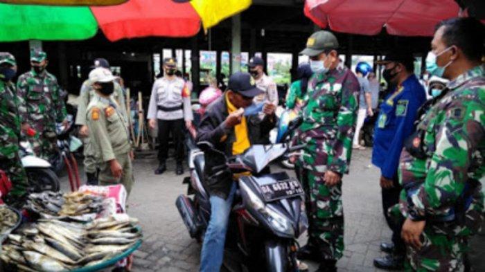 Wabah Corona Kalsel, Jelang Lebaran, Tim Satgas Covid-19 Tapin Gencar Operasi Yustisi