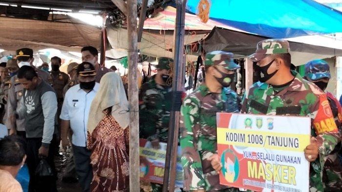 Tujuh Warga Terjaring Operasi Yustisi Protokol Kesehatan di Banua Lawas Kabupaten Tabalong