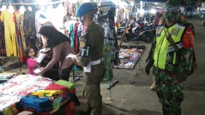 Ramai Pengujung Malam Hari, Plasa Murakata Barabai Jadi Sasaran Operasi Yustisi