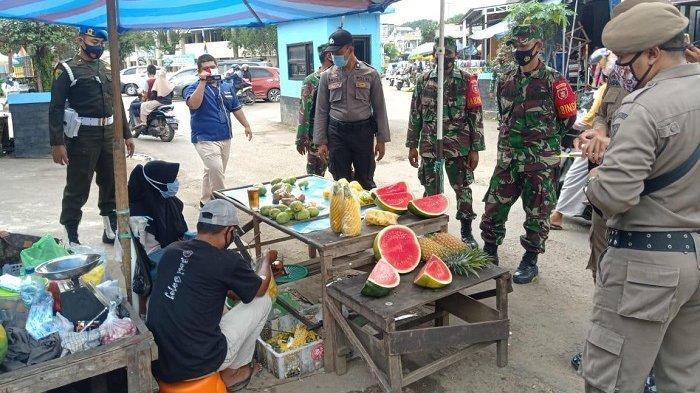 Operasi Yustisi Sasar Pasar Tanjung Tabalong, 13 Pelanggar Prokes Dapat Sanksi Teguran