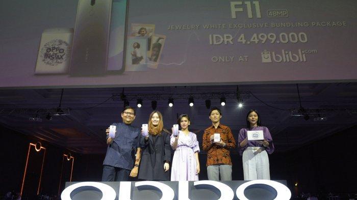 Kolaborasi OPPO dan INSTAX Hadirkan F11 Jewelry White Exclusive Bundling Package Spesial Ramadan