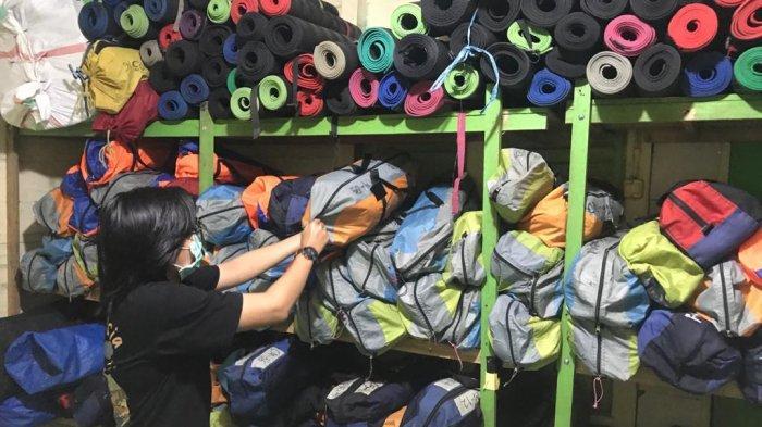 Musim Hujan, Rental Alat Camping di Banjarmasin Turun 30 Persen