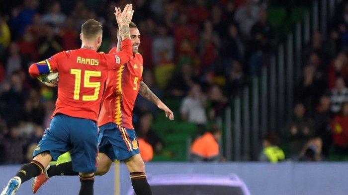 Live Streaming Mola TV Swedia vs Spanyol di TV Online Kualifikasi Euro 2020 Mulai Jam 01.45 Wib